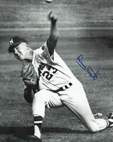 Denny Lemaster 1962-1965 Milwaukee Braves Autographed Signed 8x10 Photo COA