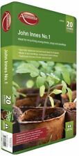 Ambassador John Innes No.1 - 20L Compost Soil Peat Loam Plants Flowers Seedling