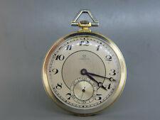 1923 Omega 18K Gold Pocket Watch Swiss Working