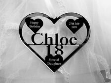 SPECIAL DAUGHTER ,GRANDDAUGHTER 18TH BIRTHDAY GIFT PERSONALISED WITH NAME CHLOE