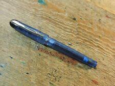 Vintage Translucent Kultur Ice Blue Waterman PHILEAS Ballpoint Pen Demonstrator