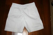 141fe9161b7 ~WESTBOUND BRAND~ LADIES~~SIZE 4 ~ WHITE CUFFED SHORTS~