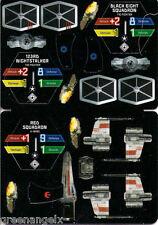 STAR WARS POCKETMODEL - (S&V06) BIGG'S X-WING/TIE FIGHTERS