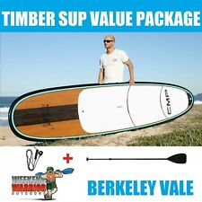 Stand Up Paddle Board PACKAGE CMP SUP 10' 10'6 with Paddle (Timber Aqua)