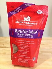 Stella & Chewy's Absolutely Rabbit Dinner Patties 15 oz