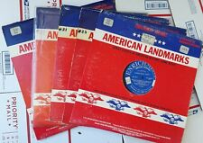 LOT OF 5 American Landmarks Enrichment Lps 10 Dramatizations 1960s History vinyl