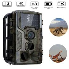 1080P Hunting Trail Camera 12MP IR Waterproof Wildlife Scouting Night Vision 20M
