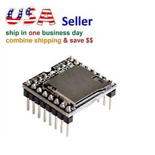 Mini MP3 Player Module U-disk TF SD with Simplified Output Speaker for Arduino