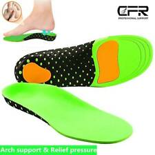 Insoles Orthotic Shoe Orthopedic Inserts Heel Arch Support Plantar Fasciitis Gel