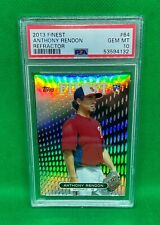 2013 TOPPS FINEST ANTHONY RENDON REFRACTOR PARALLEL ROOKIE RC #64 PSA 10
