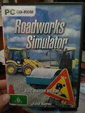 Roadworks Simulator - PC GAME - FREE POST *