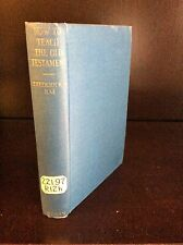 HOW TO TEACH THE OLD TESTAMENT By Frederick J. Rae - 1926
