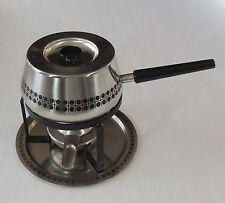 SIGG Switzerland INOX 18/8 Stainless Steel Fondue Pot Mid Century Danish Modern