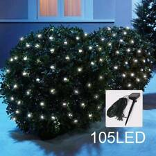 Outdoor Garden 105LED Net Lights String Fairy Mesh Curtain LampsiWaterproof