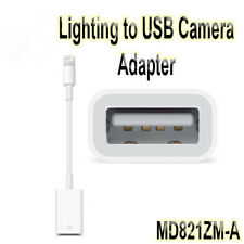 Hot 8-Pin Lightning to USB Camera Adapter for Apple iPad iPhone Camera MD821ZM/A