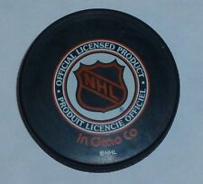 NHL Hockey Puck Official Licensed Product Black Anaheim Mighty Ducks One Size