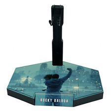 1/6 Scale Action Figure Stand Rocky Balboa