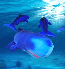 New Big Sperm Whale Toy Plush Stuffed Animal Ocean Fish Pillow Amazing Gift 80CM