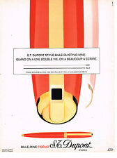 PUBLICITE ADVERTISING 025  1994  DUPONT  le bille-mine FIDELIO