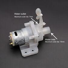 Used 1PCS DC12V 400mA 1-2L/Min 360 Water Pump Miniature Circulating Water Pump