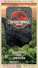 The Lost World: Jurassic Park (VHS, 1997, Widescreen)