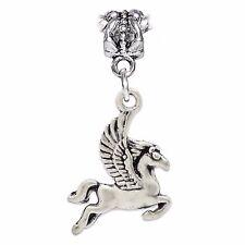 Pegasus Flying Horse Animal Mythology Dangle Charm for European Bead Bracelets