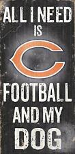 Fan Creations Chicago Bears Football and My Dog Sign, Multicolored New
