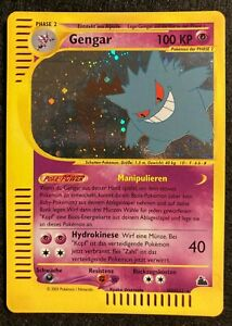 Pokemon Gengar Skyridge HOLO H9/H32 German NM