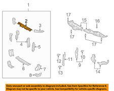 TOYOTA OEM 02-06 Camry Radiator Core Support-Upper Tie Bar Bracket 5321606040