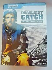 Deadliest Catch  The Complete First Season - 5 DVD Set NEW