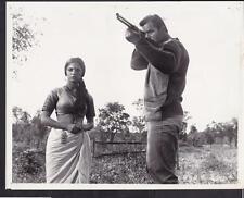Clint Walker with rifle Sonia Sahni Maya 1966 original movie photo 30409