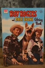 1975 Vintage Whitman Roy Rogers and Dale Evans Coloring Activity Book Unused