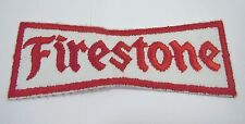 "FIRESTONE Embroidered Sew-On Uniform-Jacket Patch 5"" x 1 1/2"""
