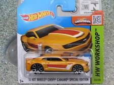 HOT WHEELS 2015 #232/250 2013 CHEVY CAMARO EDIZIONE SPECIALE ORANGE