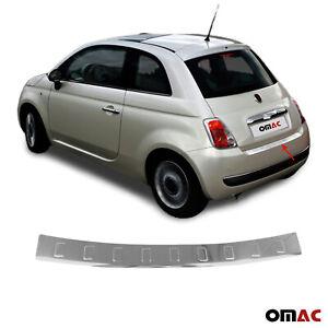 Für Fiat 500 500C 2007-2016 Chrom Ladekantenschutz aus Edelstahl B-Ware