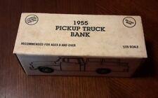 ERTL 1955 Pickup Truck Bank Gribble's Garage