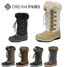 DREAM PAIRS Women's Zip up Snow Boots Waterproof Warm Fur Lined Snow Boots US
