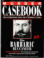 MURDER CASEBOOK Magazine Issue 69 - The Barbaric Buccaneer (1990)