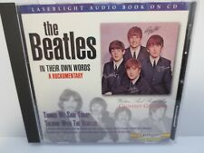 THE BEATLES ~ IN THEIR OWN WORDS A ROCKUMENTARY ~ LASERLIGHT AUDIO BOOK ~ CD