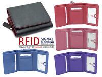 StarHide Women Designer RFID Full Zip Around Small Wallet Coin Pouch Purse 5555