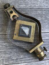 Antique 1850s R. Patten & Son Mining Mountain Surveyor Reflecting Level Target