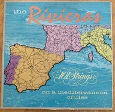 THE RIVIERAS 101 STRINGS ON A MEDITERRANEAN CRUISE VINYL ALB VG + SF-9000