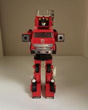 Vintage Transformers Takara Hasbro 1980 1982 G1 Inferno Fire Truck Firebot