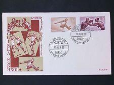 Guinea espanola FDC 1958 Sport boxeo Boxing jumping d2805
