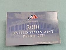2010 US Mint Proof Coin Set in Original Box w/ COA