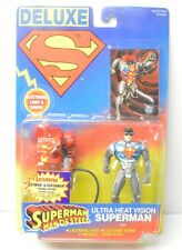 Superman Ultra Heat Vision Man of Steel Kenner action figure 1996