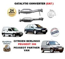 FOR CITROEN BERLINGO PEUGEOT 306 PEUGEOT PARTNER VAN NEW CATALYTIC COVERTER CAT