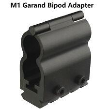 Universal M1 Garand Bipod Adapter, Picatinny Weaver Style Bayonet Lug Locked