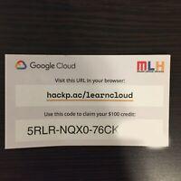Google Cloud Platform $100 Credit - 1 Per Google Account