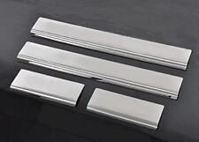 4 x Aluminium Alloy Door Sill Step Guard Trim Protectors fits TOYOTA